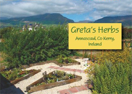 Greta Supplies Herbs To Market and Runs Gardening Courses